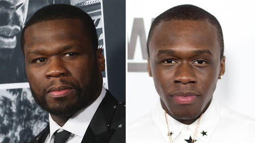"""50 Cent says he """"used to"""" love his son Marquise Jackson"""